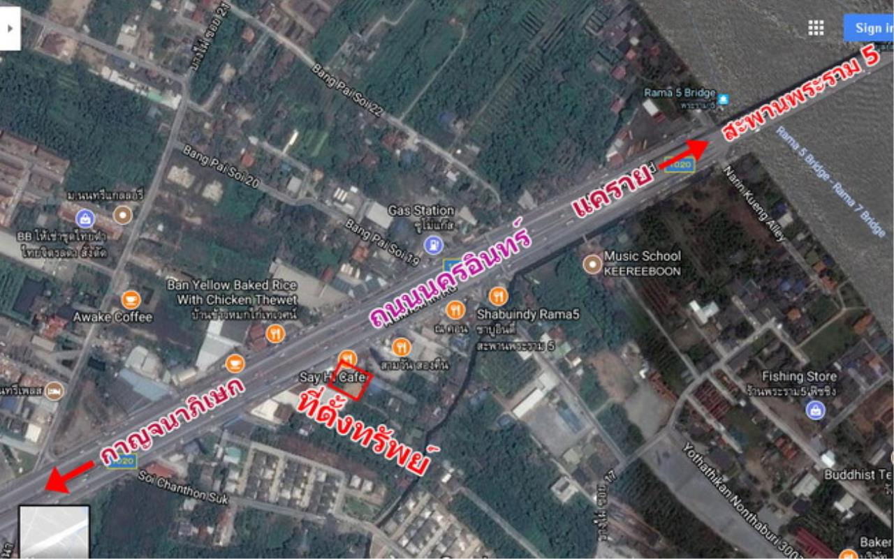 37731-Land for sale, on Nakhon In road, 2 rai 290 sq.wa.