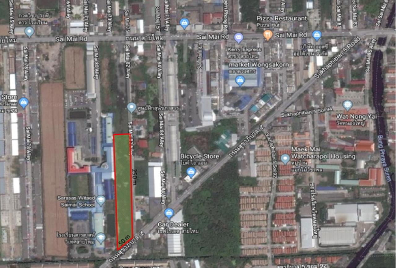 Forbest Properties Agency's 37773-Land For Sale, on Sukhapibarn 5 Rd. ( Saimai ), land size 6 rai  1