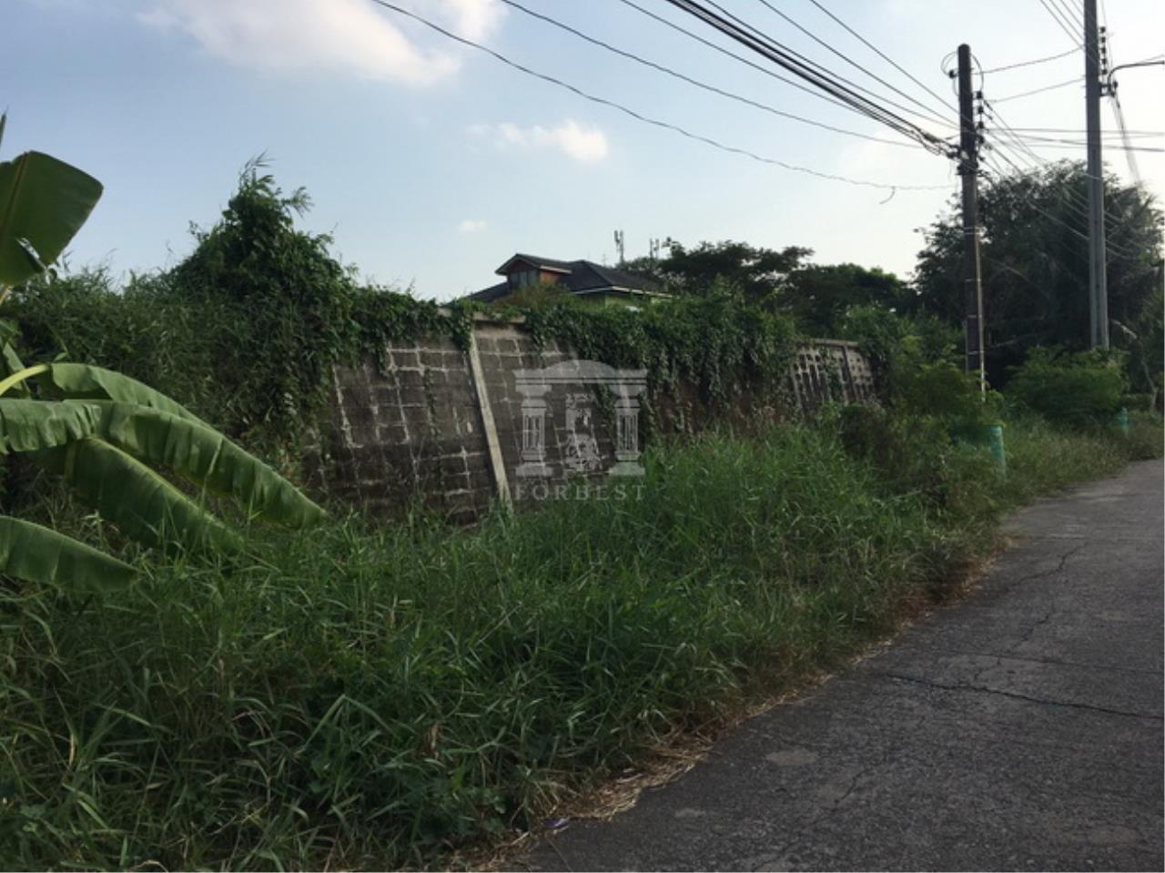 Forbest Properties Agency's 37844-Land for sale, on Phraek Sa road, 8 rai 203 sq.wa. 4