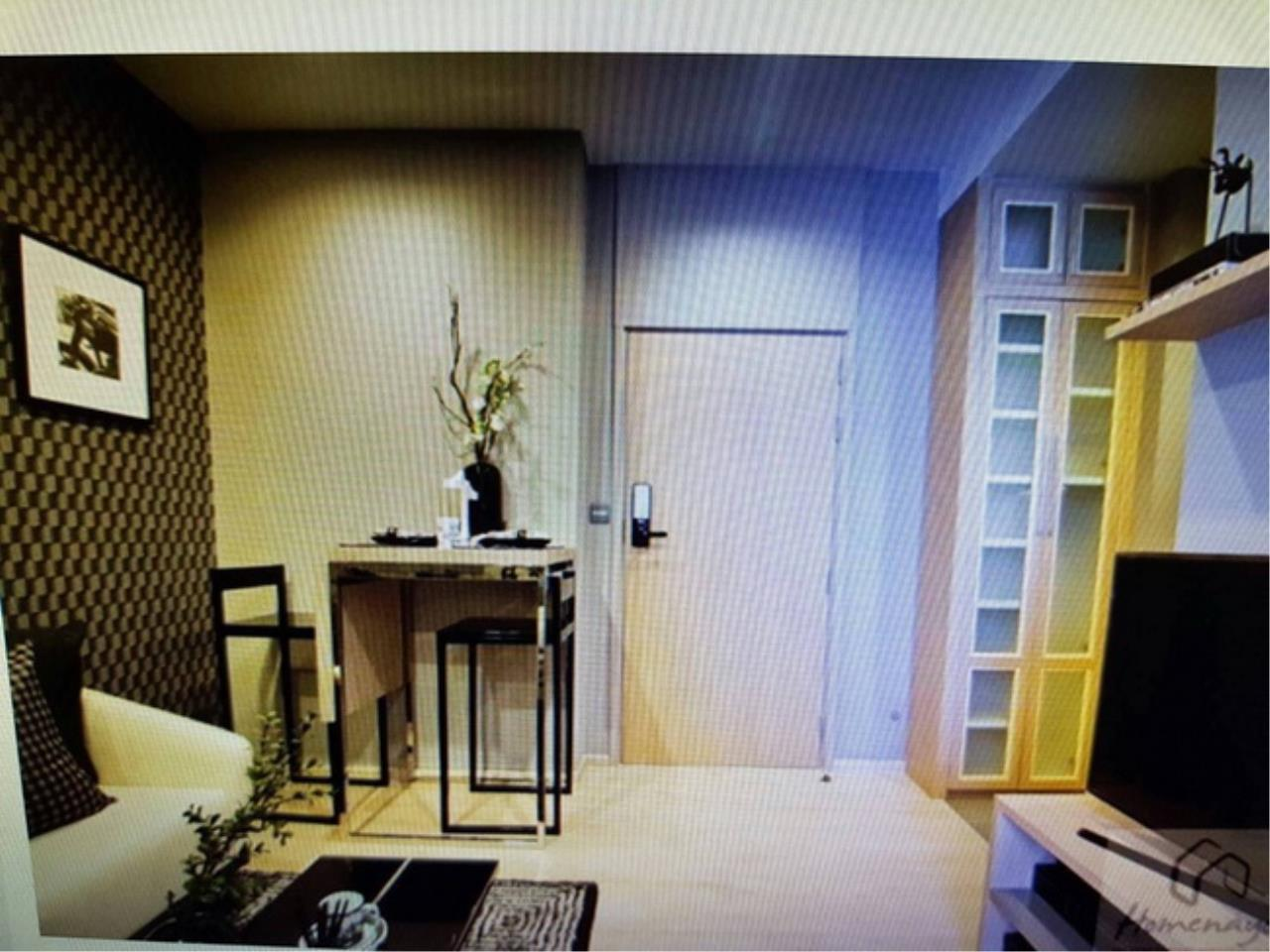 38014 - Condo M Thonglor Sukhumvit Road. 29.35 sq.m.