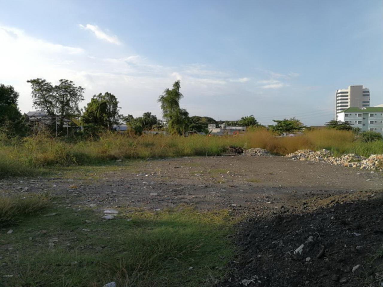 Forbest Properties Agency's 38052-Land  for sale, on Pattanakarn rd., 7 rai 172 sq.wa. 1