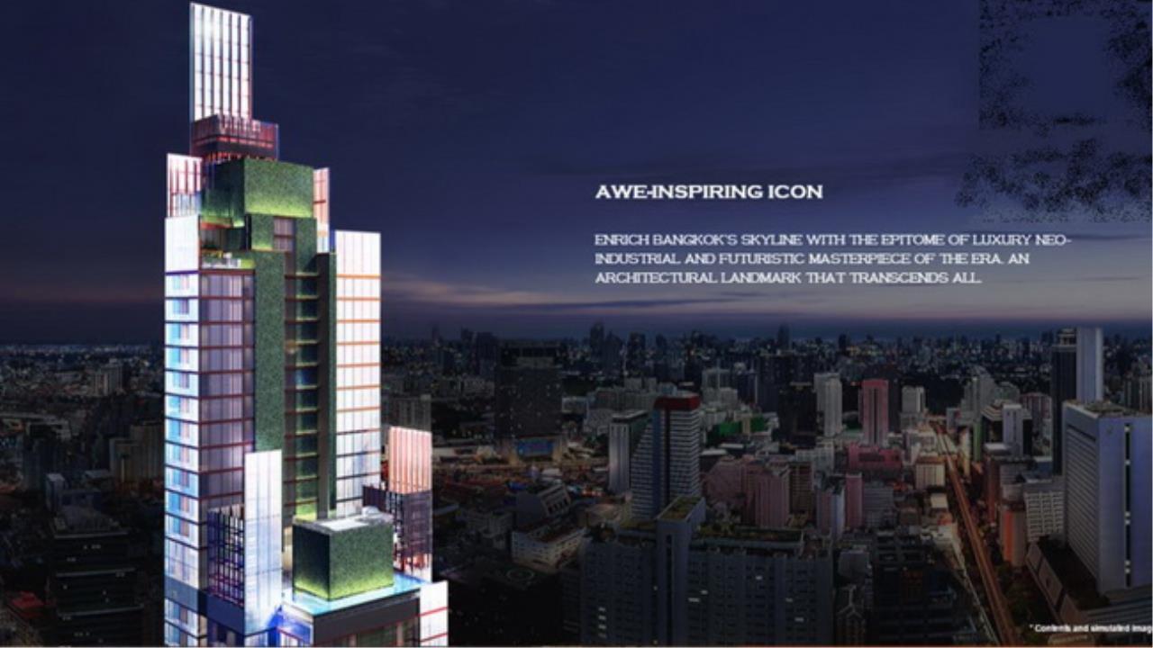 Forbest Properties Agency's 38070- Aston on Silom Road. 75.50 sq.m. 4