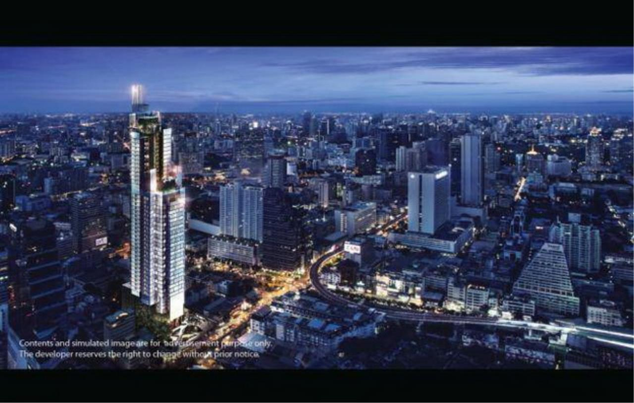 Forbest Properties Agency's 38071 - Aston on Silom Road. 31.5 sq.m. 2