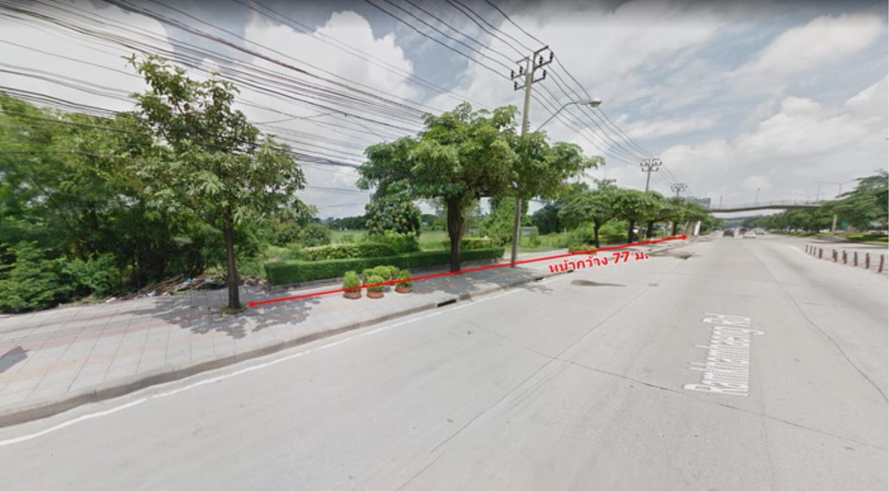 Forbest Properties Agency's 39059-Land for sale, on Ramkhamhaeng road, 9 rai 127 sq.wa. 1