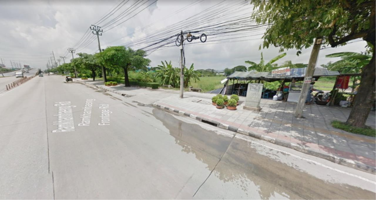 Forbest Properties Agency's 39059-Land for sale, on Ramkhamhaeng road, 9 rai 127 sq.wa. 5