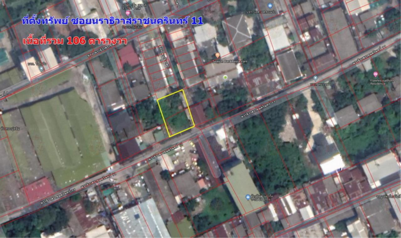Forbest Properties Agency's 39404-Land for sale, Sathon road, Plot size 106 sq.wa. 8