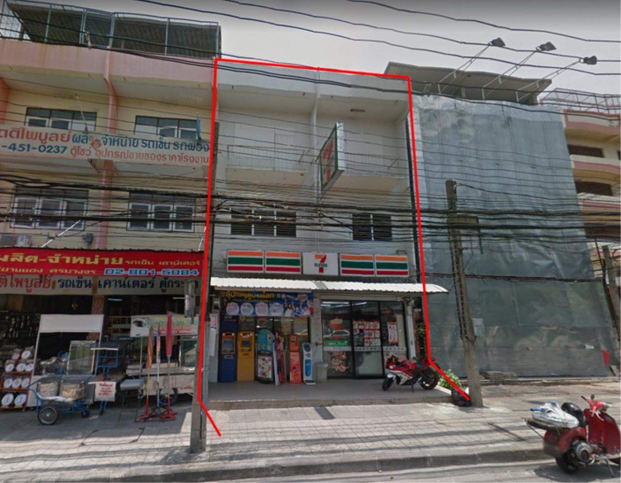Forbest Properties Agency's 39413 Commercial Building for Sale, Ekachai Road, 42 sq. Wa. 4