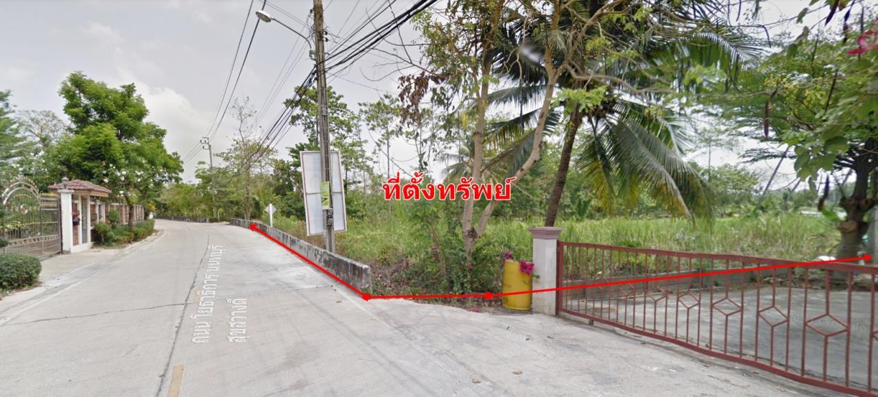 Forbest Properties Agency's 40288 Land for sale, along the Chao Phraya River, Koh Kret, Nonthaburi, Yothathikarn Rd., Plot size 552 sq.wa. 1