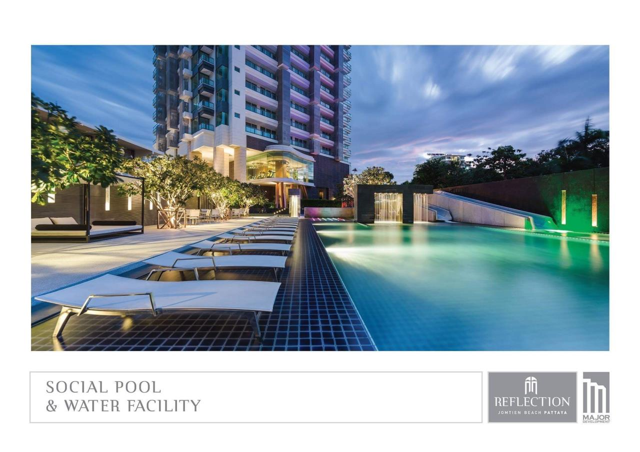 Agent - Pattaya Investment Agency's Reflection Jomtien good deal 3 bedroom hight floor 12