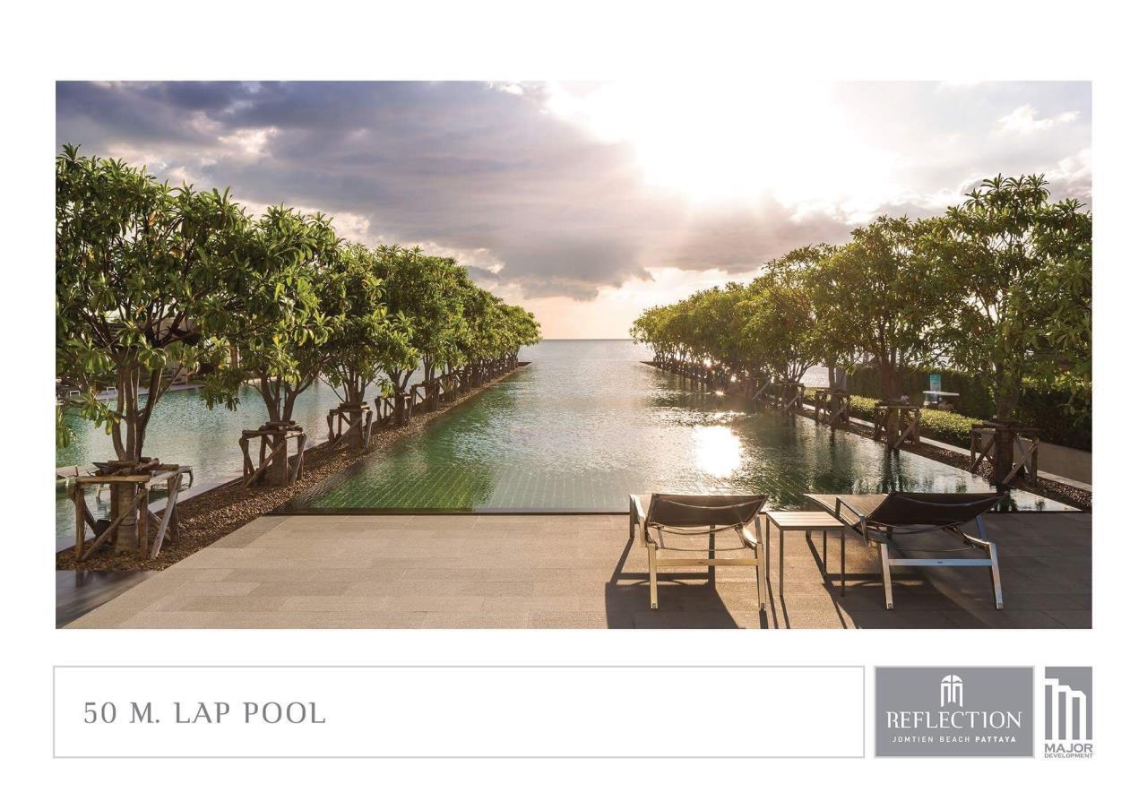 Agent - Pattaya Investment Agency's Reflection Jomtien good deal 3 bedroom 48 floor 10