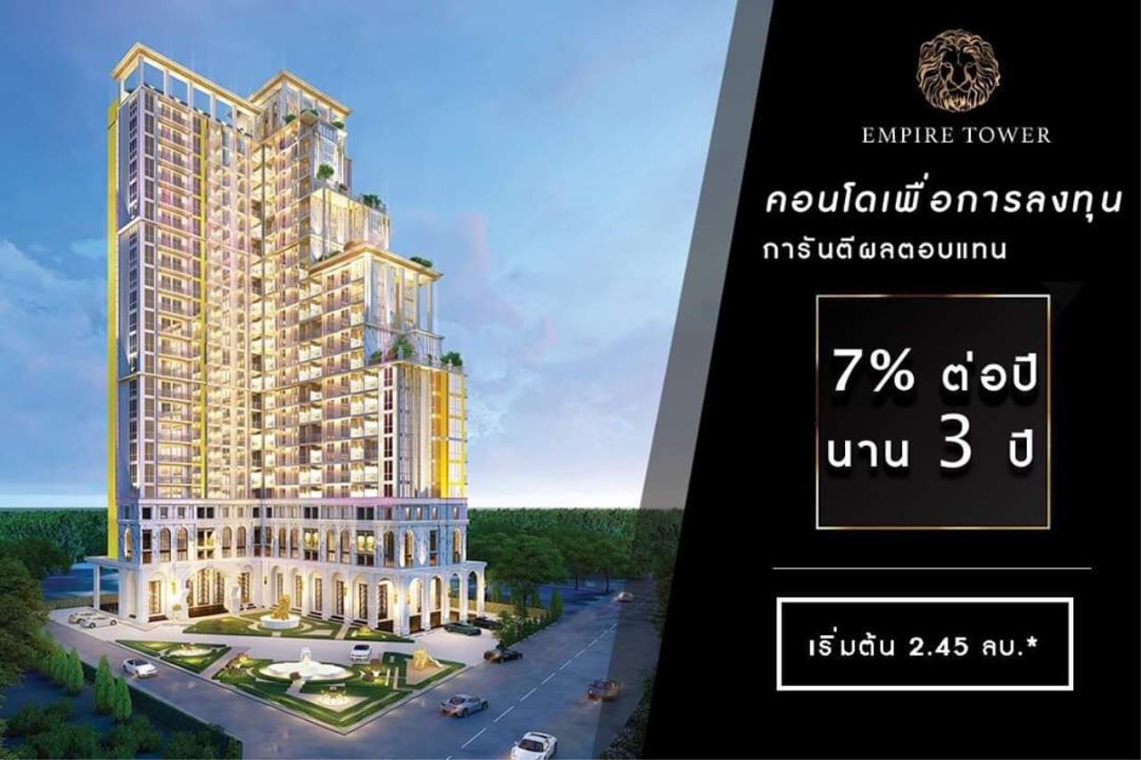 Pattayaconsult Co., Ltd. Agency's 33 sqm 1 bedroom for sale 30% discount @ The Empire Jomtien 6