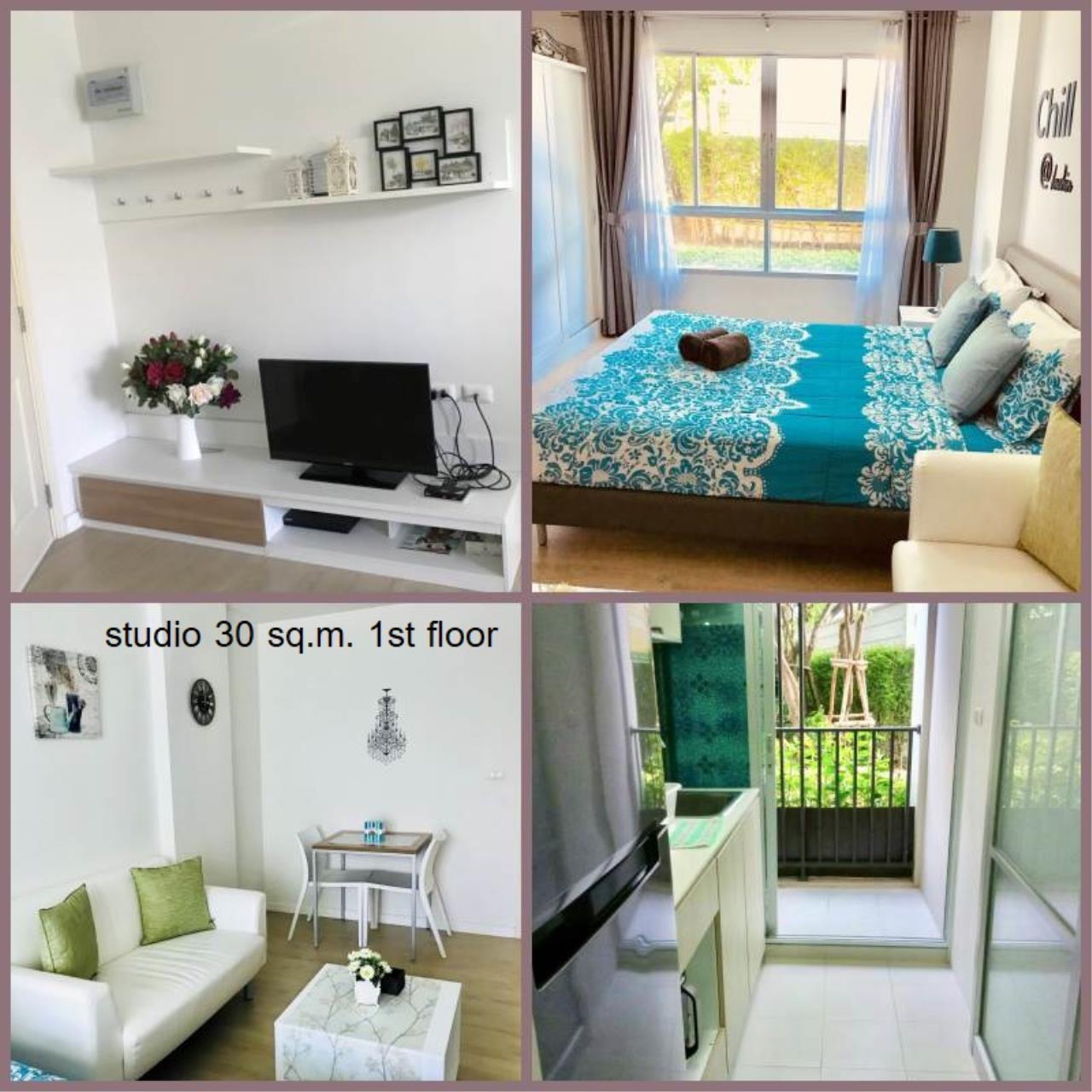Agent - Yanisa Agency's 30 sq.m. studio fully furnish 2 units near Ferry pier, Khao Takiab  1