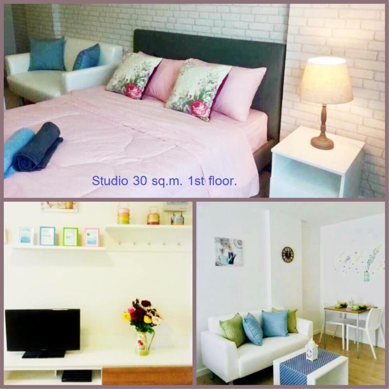 Agent - Yanisa Agency's 30 sq.m. studio fully furnish 2 units near Ferry pier, Khao Takiab  2