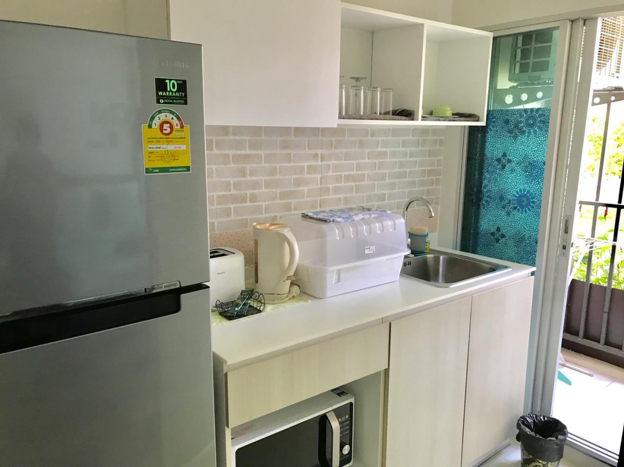 Agent - Yanisa Agency's 30 sq.m. studio fully furnish 2 units near Ferry pier, Khao Takiab  4