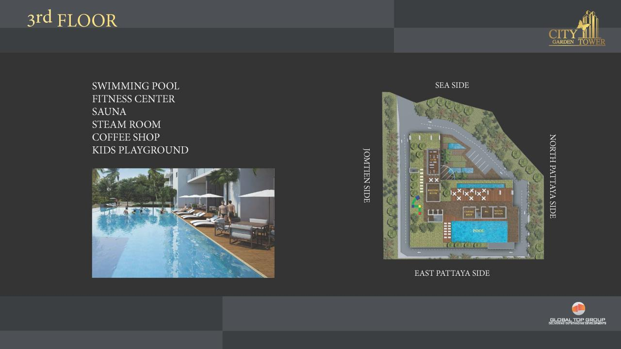 Agent - Yanisa Agency's City Garden Tower, Luxury High-Rise in the heart of Pattaya 12