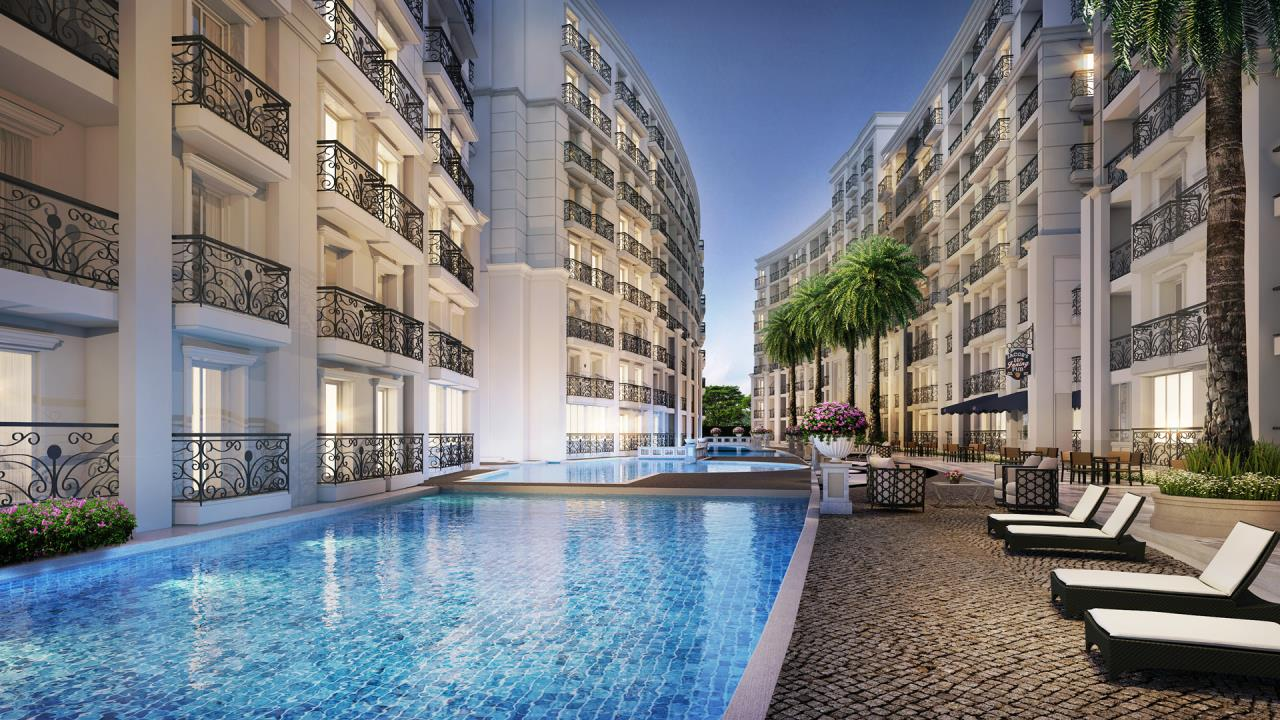 Agent - Yanisa Agency's City Garden Olympus, low-rise luxury condo in 8 rai. area 1