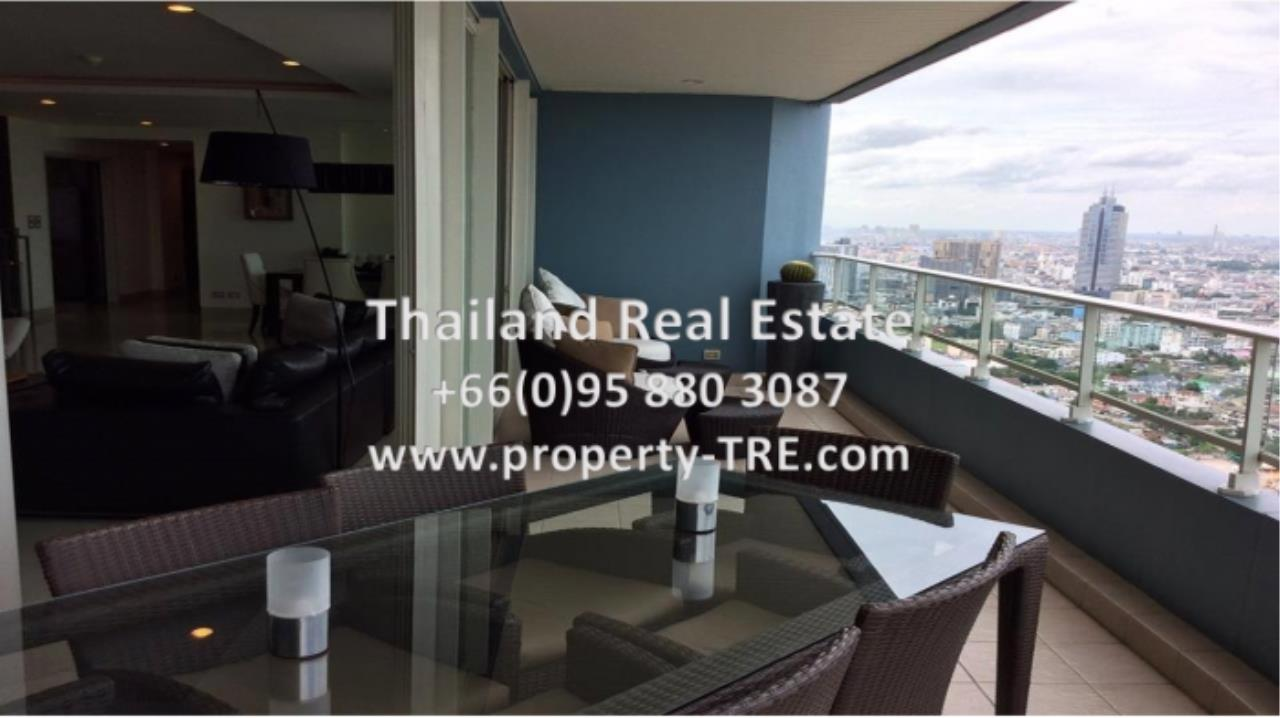 Thailand Real Estate Agency's 4 Bedroom Condo at Watermark Chaophraya near BTS Saphan Taksin (12629) 1