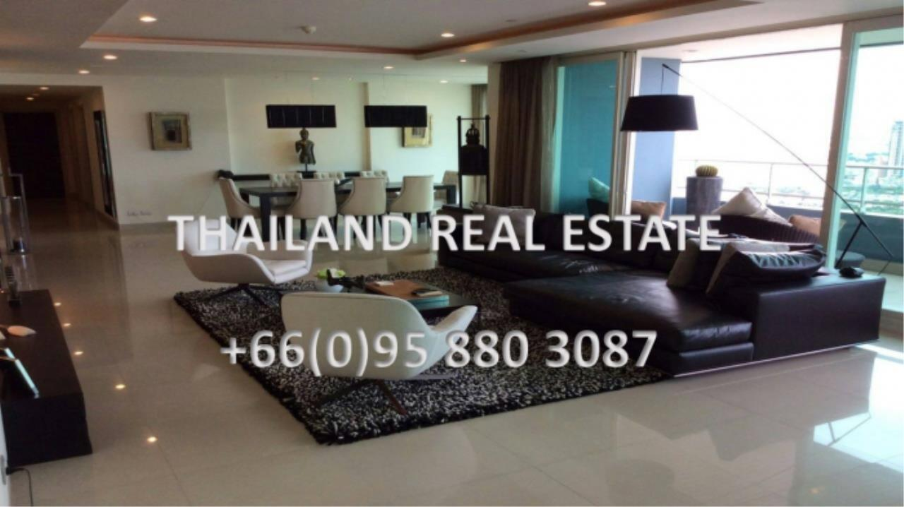 Thailand Real Estate Agency's 4 Bedroom Condo at Watermark Chaophraya near BTS Saphan Taksin (12629) 13
