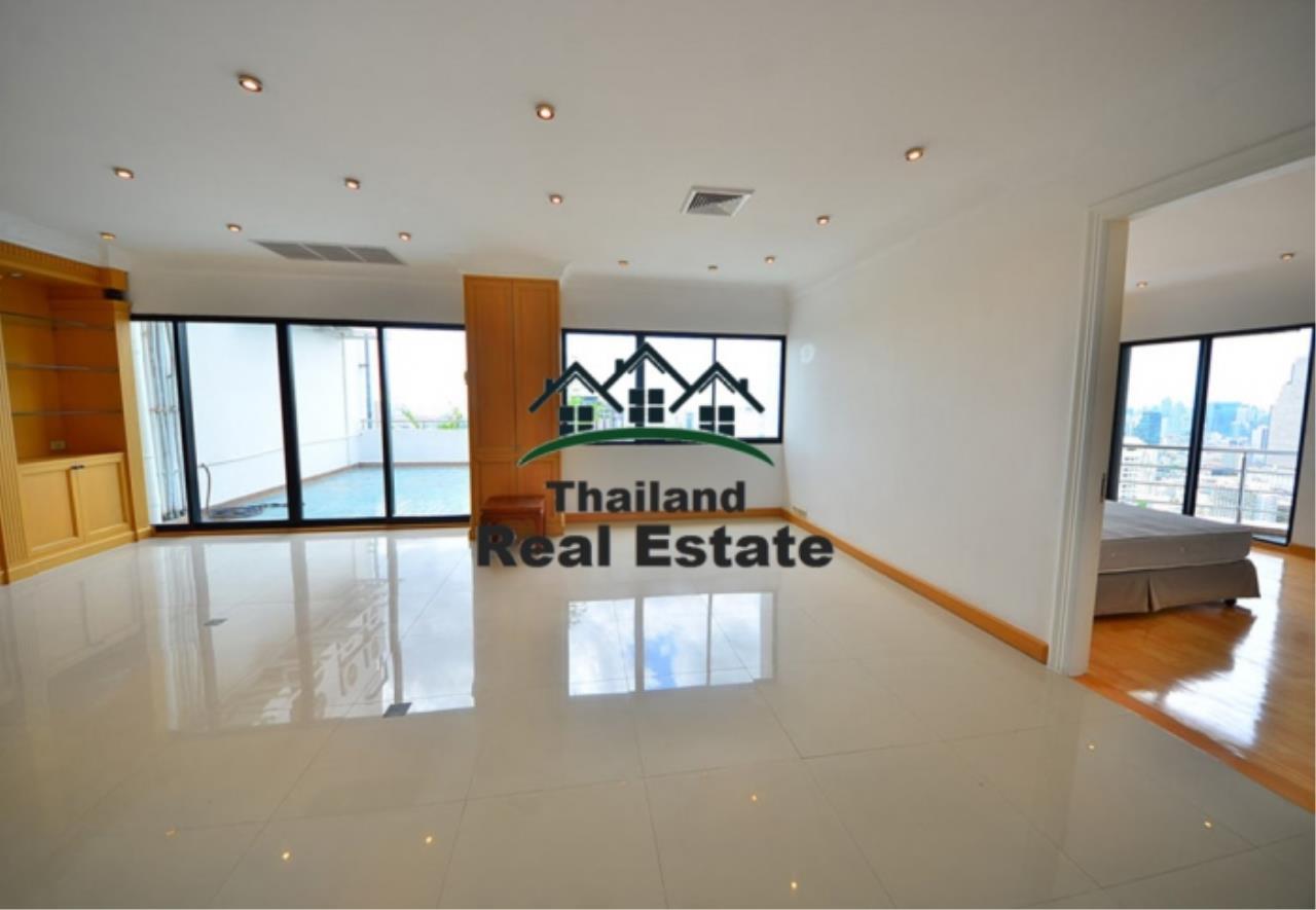 Thailand Real Estate Agency's 5 Bedroom Penthouse at Saichol near BTS Saphan Taksin(12693) 5
