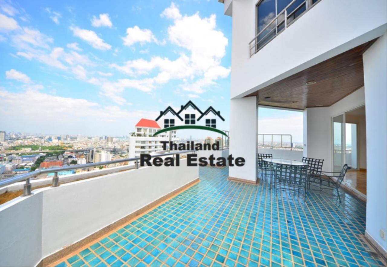 Thailand Real Estate Agency's 5 Bedroom Penthouse at Saichol near BTS Saphan Taksin(12693) 6
