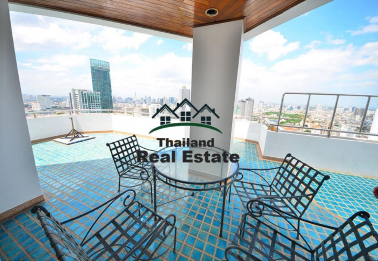 Thailand Real Estate Agency's 5 Bedroom Penthouse at Saichol near BTS Saphan Taksin(12693) 7