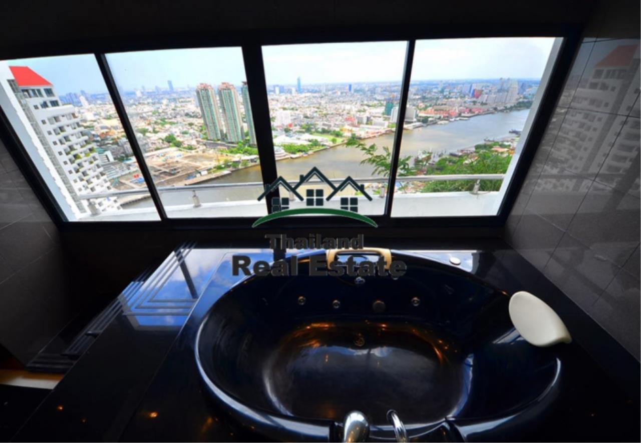 Thailand Real Estate Agency's 5 Bedroom Penthouse at Saichol near BTS Saphan Taksin(12693) 15