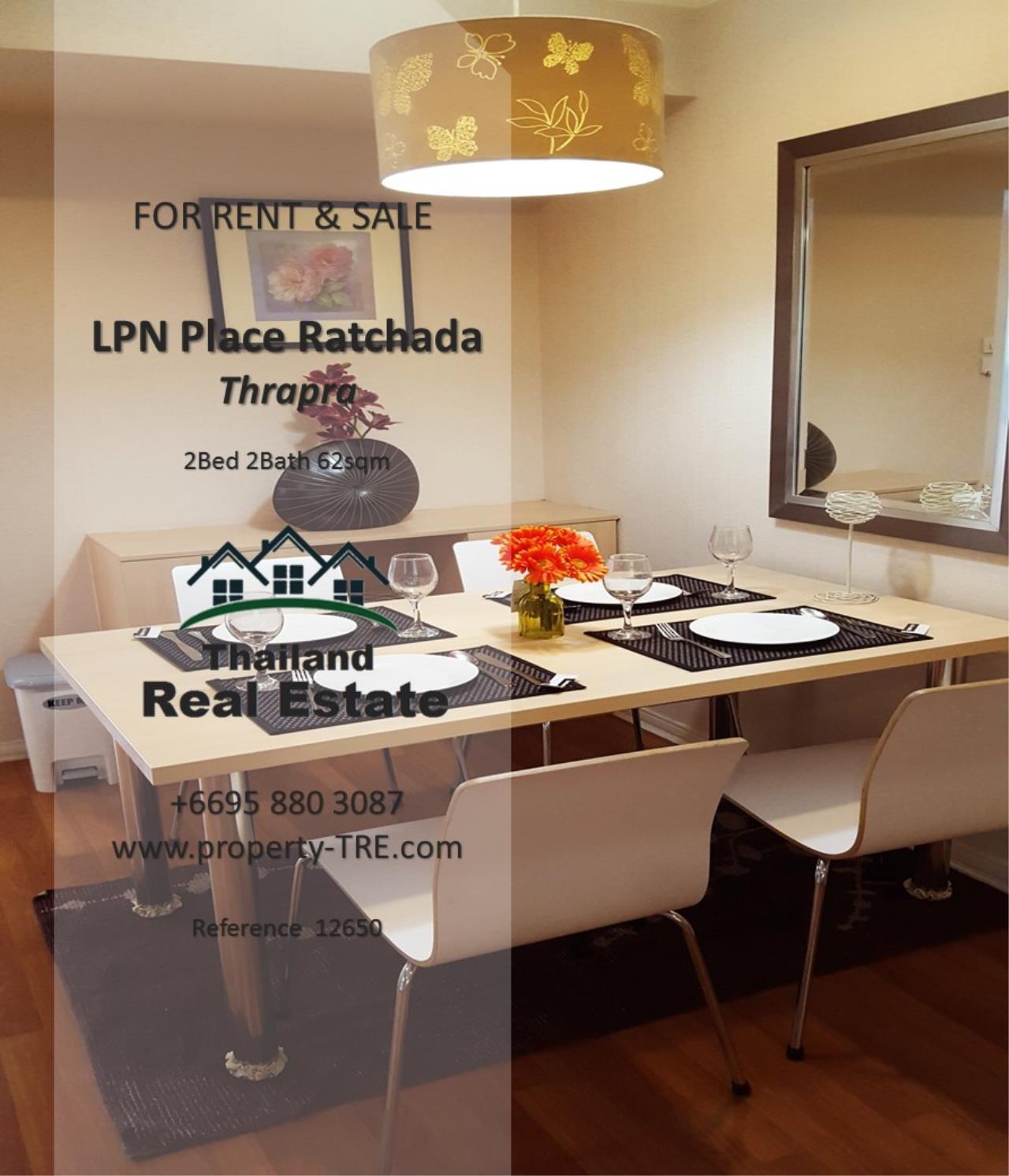 Thailand Real Estate Agency's 2 Bedroom Condo at Lumpini Place near BTS Talat Phlu BTS(12857) 13