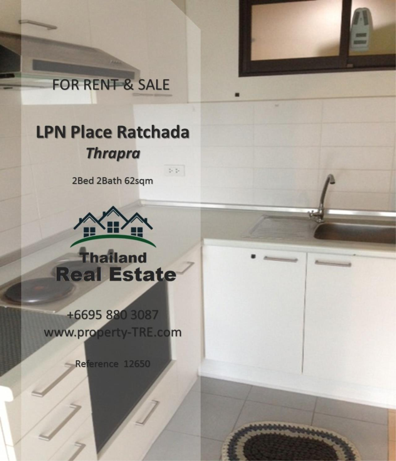 Thailand Real Estate Agency's 2 Bedroom Condo at Lumpini Place near BTS Talat Phlu BTS(12857) 14