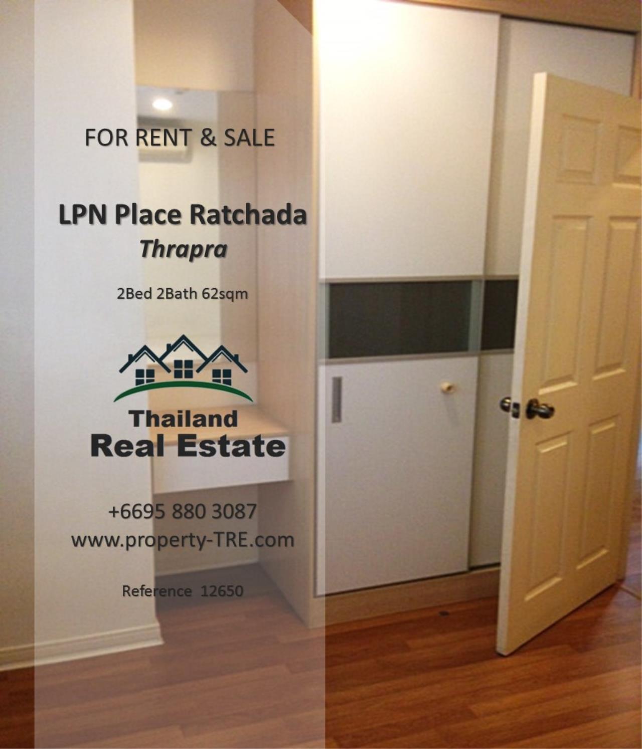 Thailand Real Estate Agency's 2 Bedroom Condo at Lumpini Place near BTS Talat Phlu BTS(12857) 15