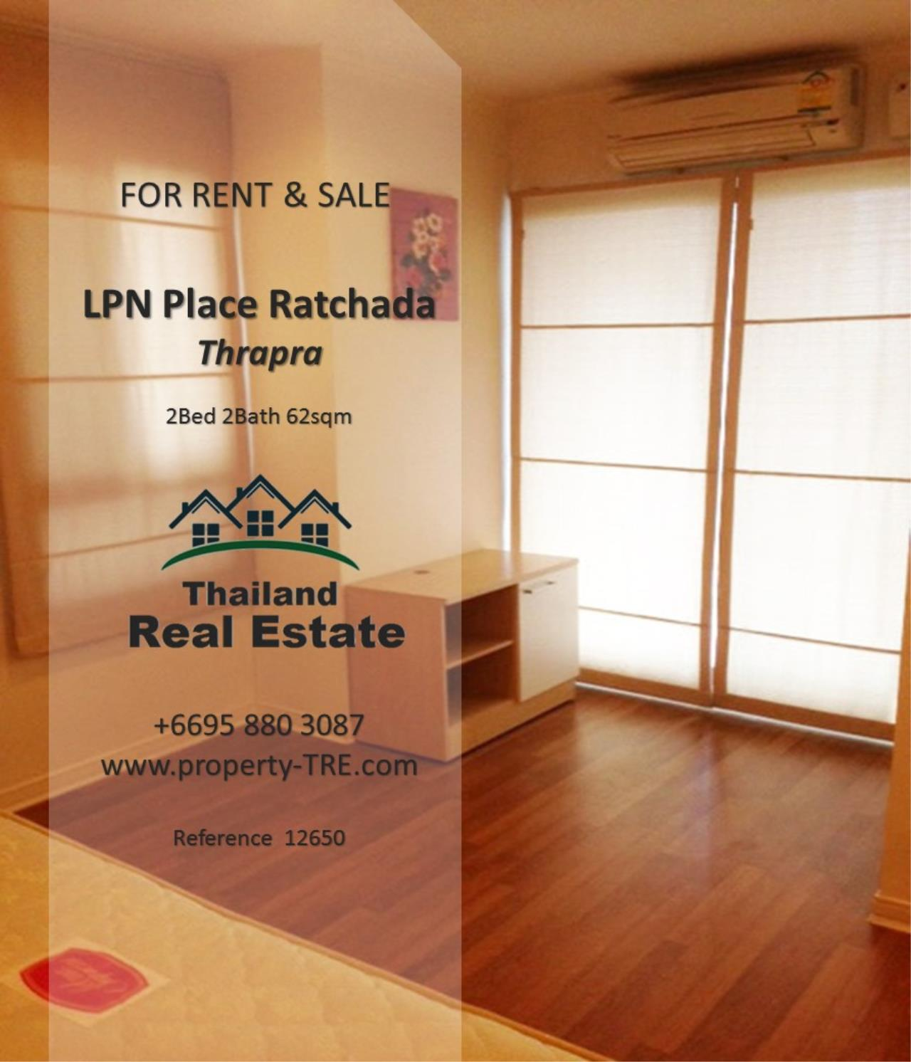 Thailand Real Estate Agency's 2 Bedroom Condo at Lumpini Place near BTS Talat Phlu BTS(12857) 16