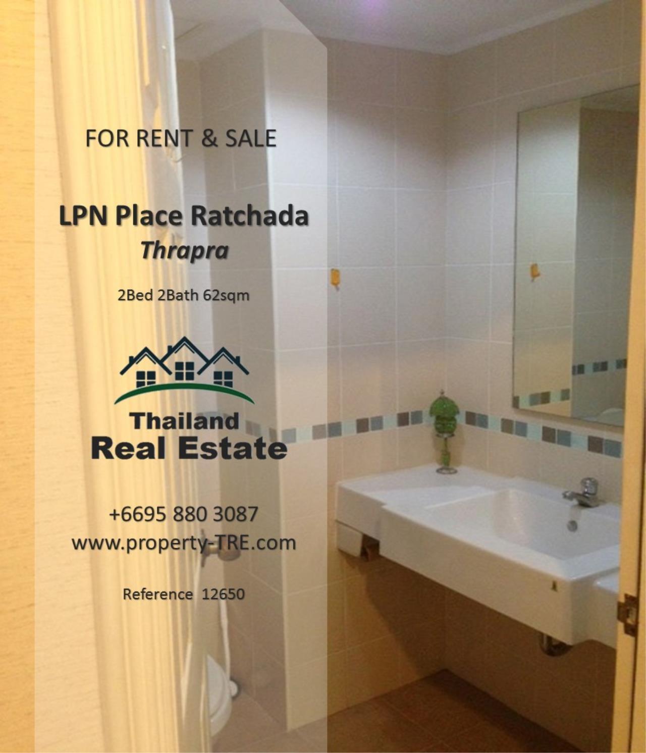 Thailand Real Estate Agency's 2 Bedroom Condo at Lumpini Place near BTS Talat Phlu BTS(12857) 17