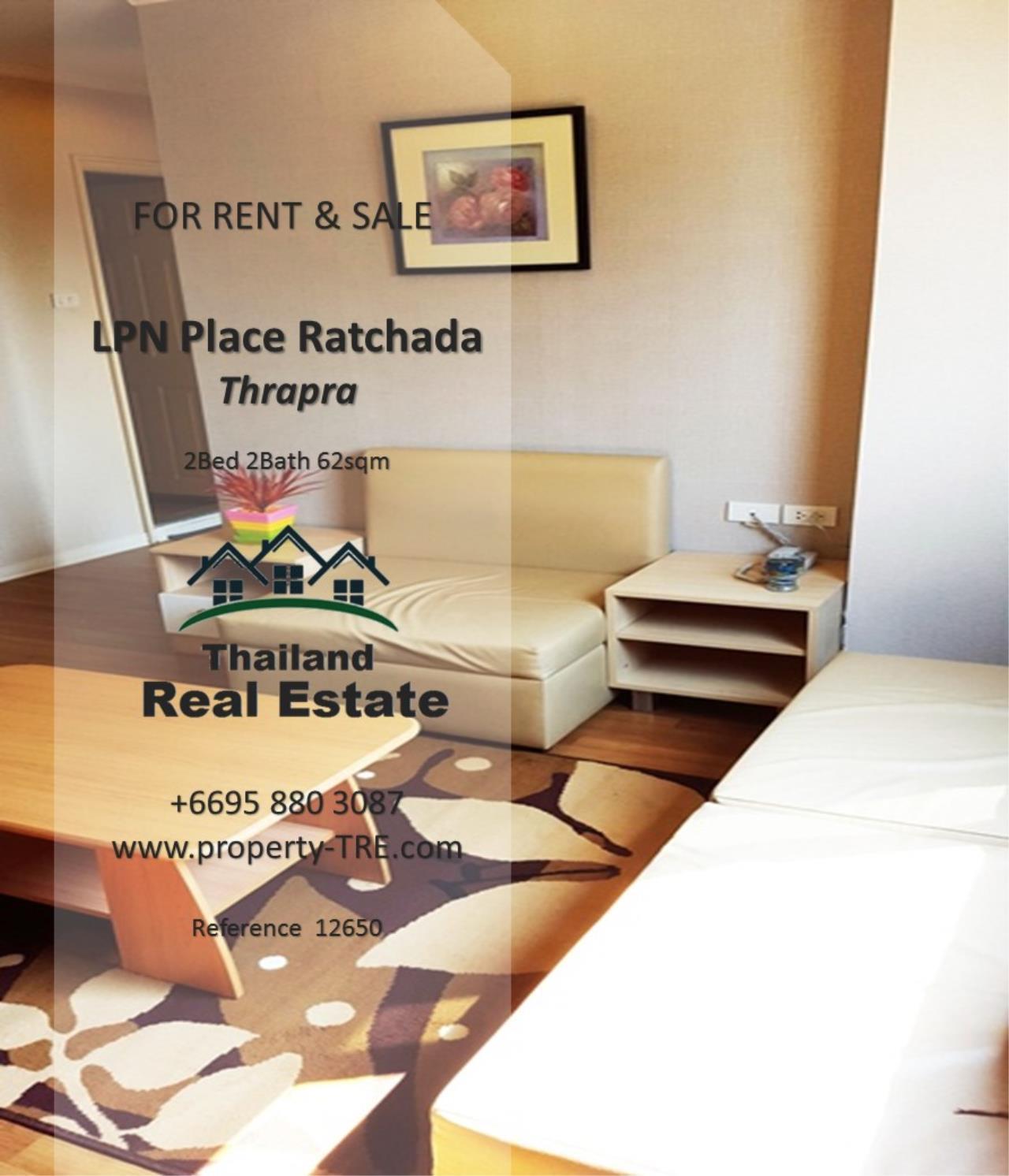Thailand Real Estate Agency's 2 Bedroom Condo at Lumpini Place near BTS Talat Phlu BTS(12857) 3