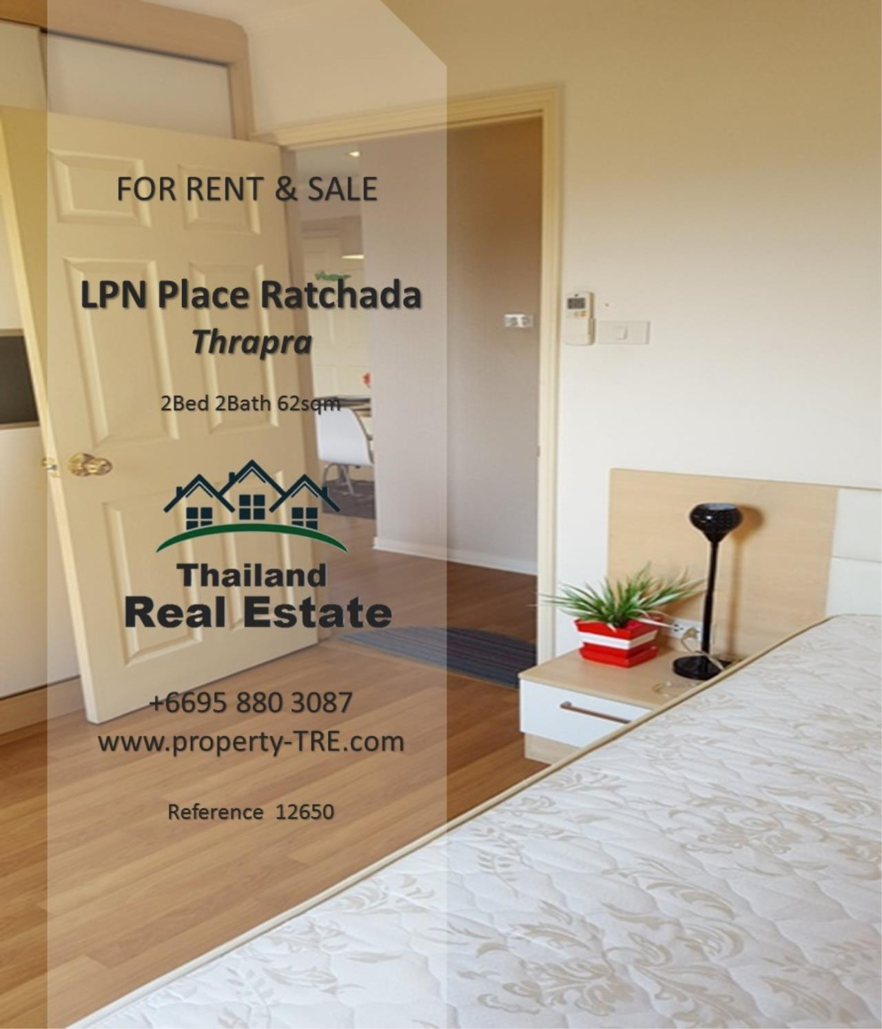 Thailand Real Estate Agency's 2 Bedroom Condo at Lumpini Place near BTS Talat Phlu BTS(12857) 6
