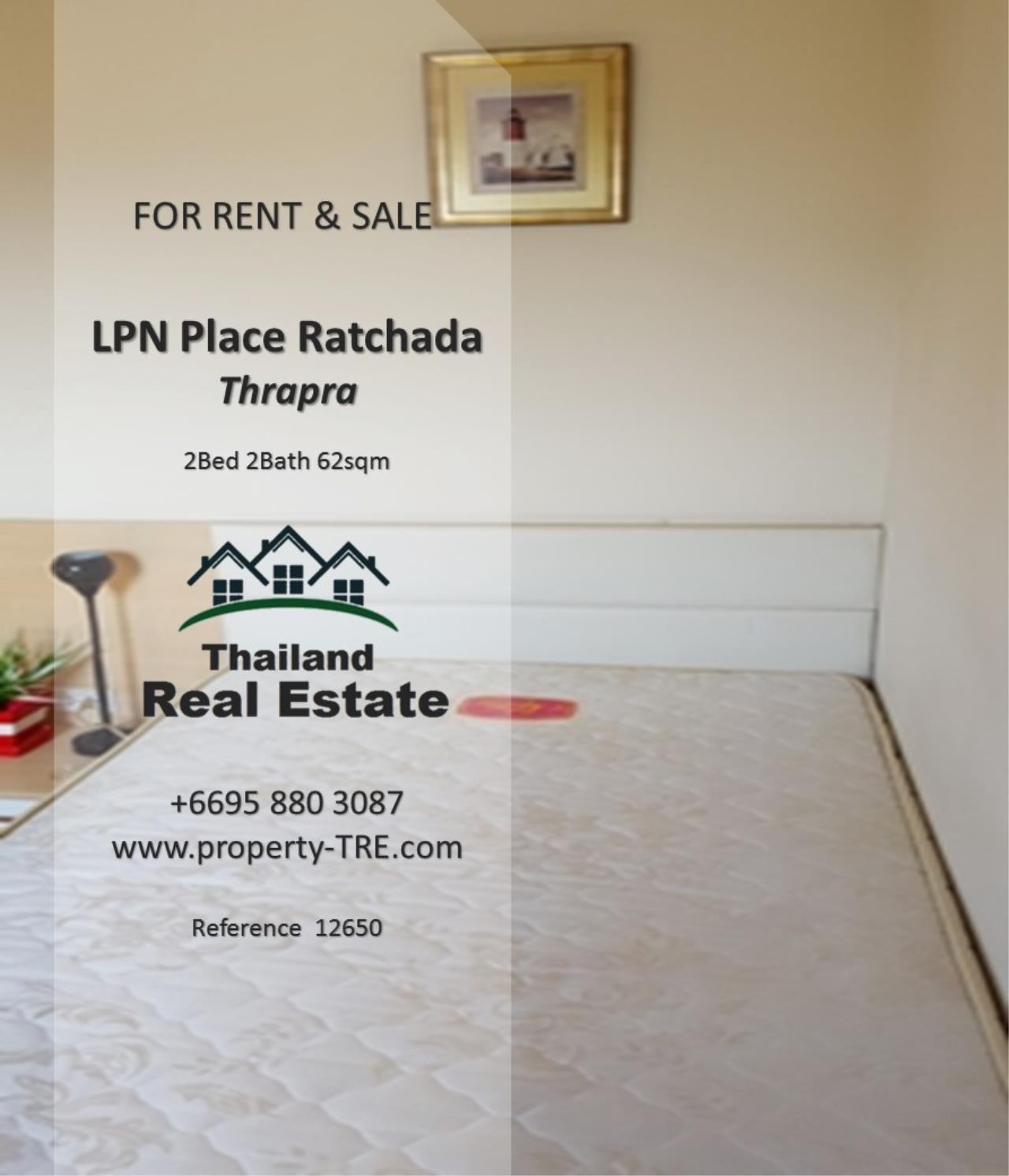 Thailand Real Estate Agency's 2 Bedroom Condo at Lumpini Place near BTS Talat Phlu BTS(12857) 7
