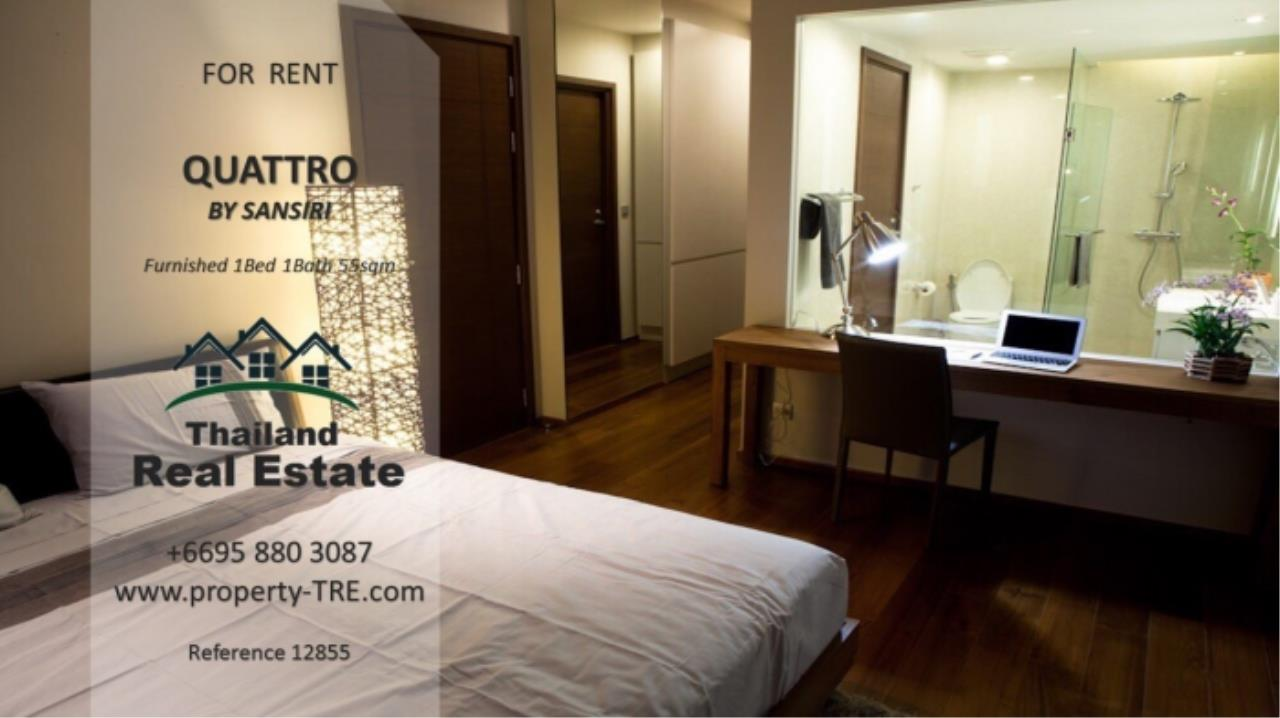 Thailand Real Estate Agency's 1 Bedroom Condo at Quattro by Sansiri near BTS Thong Lo (12855) 4