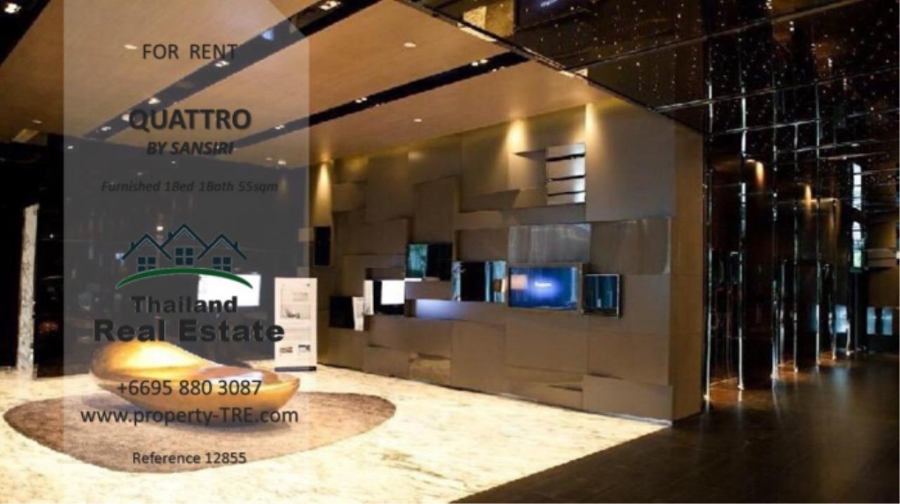 Thailand Real Estate Agency's 1 Bedroom Condo at Quattro by Sansiri near BTS Thong Lo (12855) 6