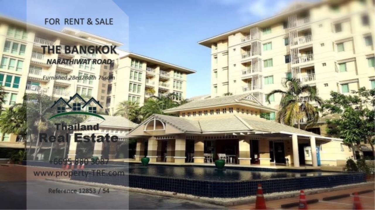 Thailand Real Estate Agency's 2 Bedroom Condo at The Bangkok Narathiwas Ratchanakarint (12853) 2