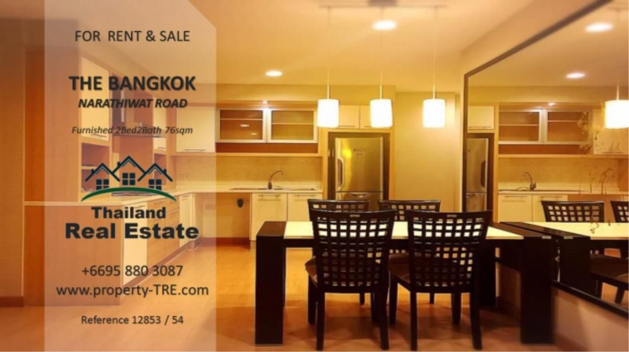 Thailand Real Estate Agency's 2 Bedroom Condo at The Bangkok Narathiwas Ratchanakarint (12853) 3