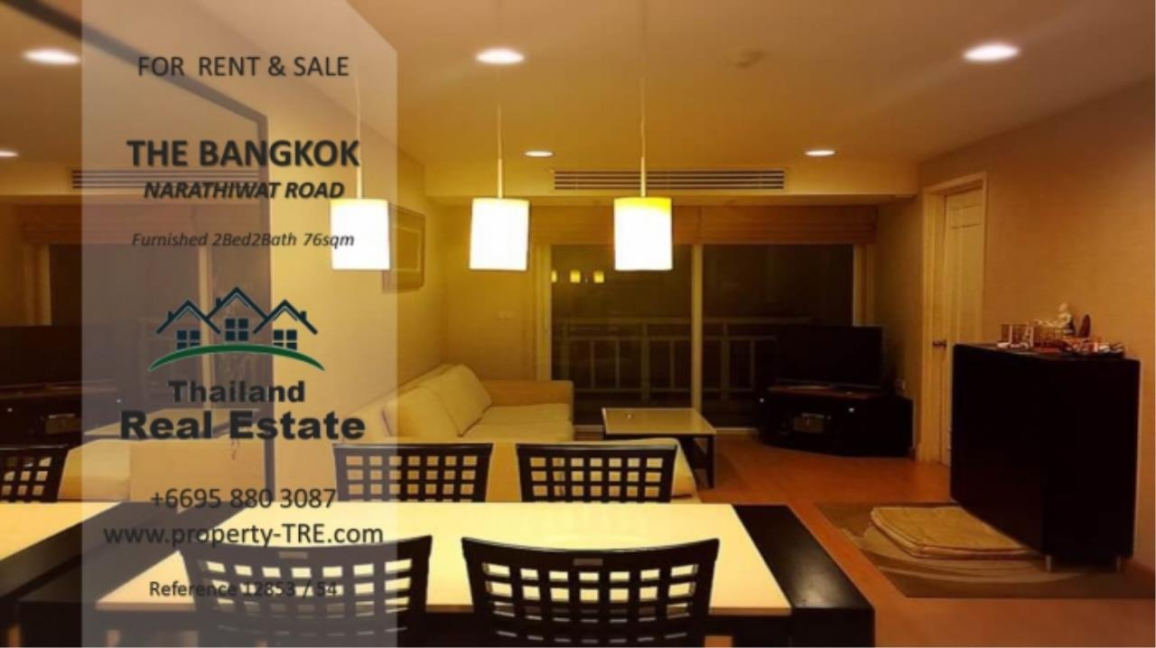 Thailand Real Estate Agency's 2 Bedroom Condo at The Bangkok Narathiwas Ratchanakarint (12853) 5