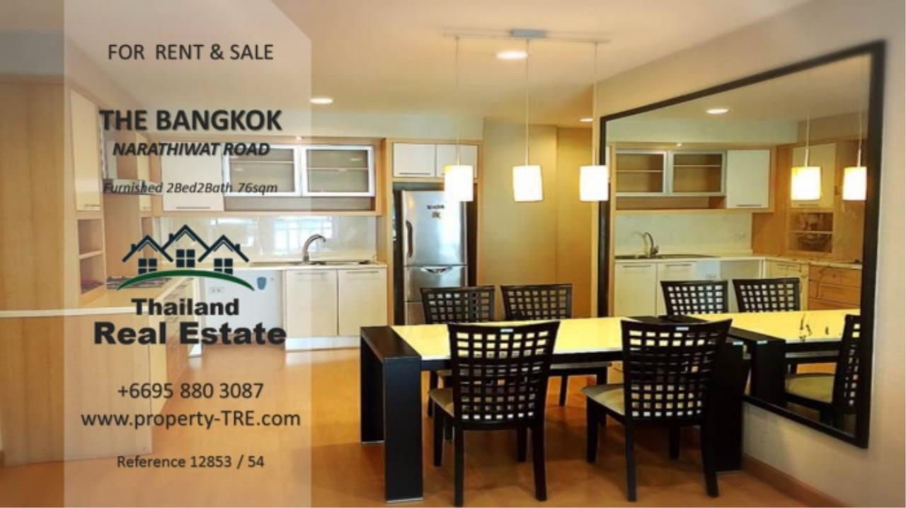 Thailand Real Estate Agency's 2 Bedroom Condo at The Bangkok Narathiwas Ratchanakarint (12853) 6