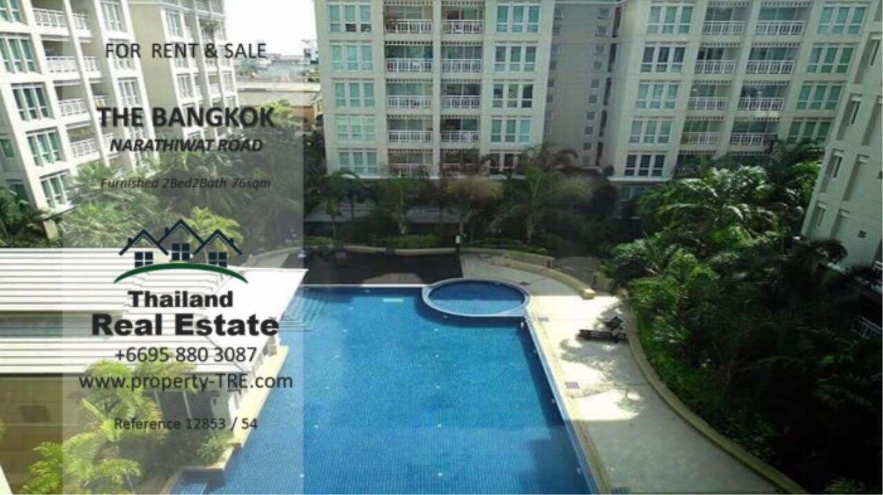 Thailand Real Estate Agency's 2 Bedroom Condo at The Bangkok Narathiwas Ratchanakarint (12853) 11
