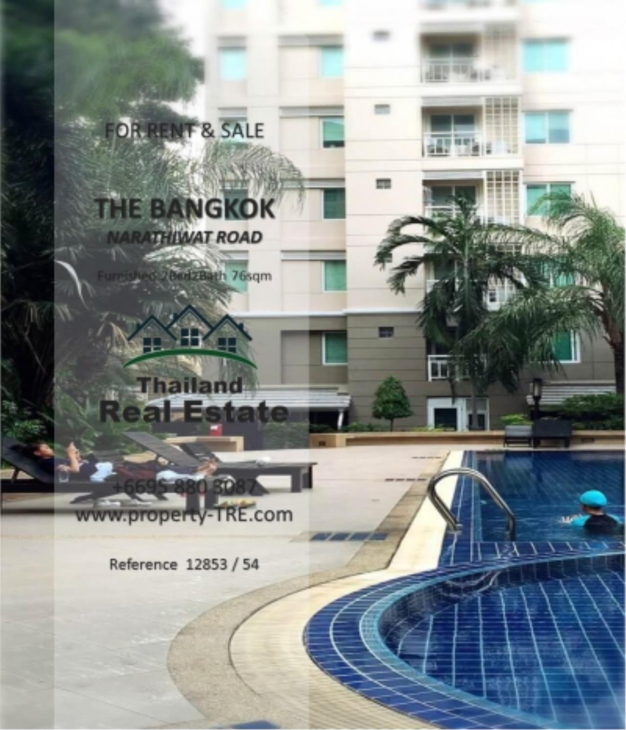 Thailand Real Estate Agency's 2 Bedroom Condo at The Bangkok Narathiwas Ratchanakarint (12853) 14