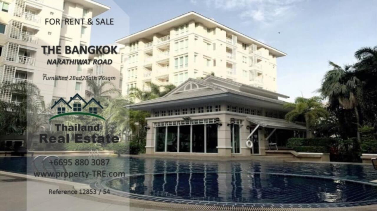 Thailand Real Estate Agency's 2 Bedroom Condo at The Bangkok Narathiwas Ratchanakarint (12853) 15