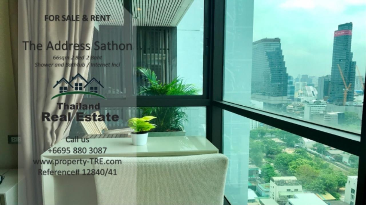 Thailand Real Estate Agency's 2 bed, 2 bath For Sale and Rent | The Address Sathon (Reference 12841) 2