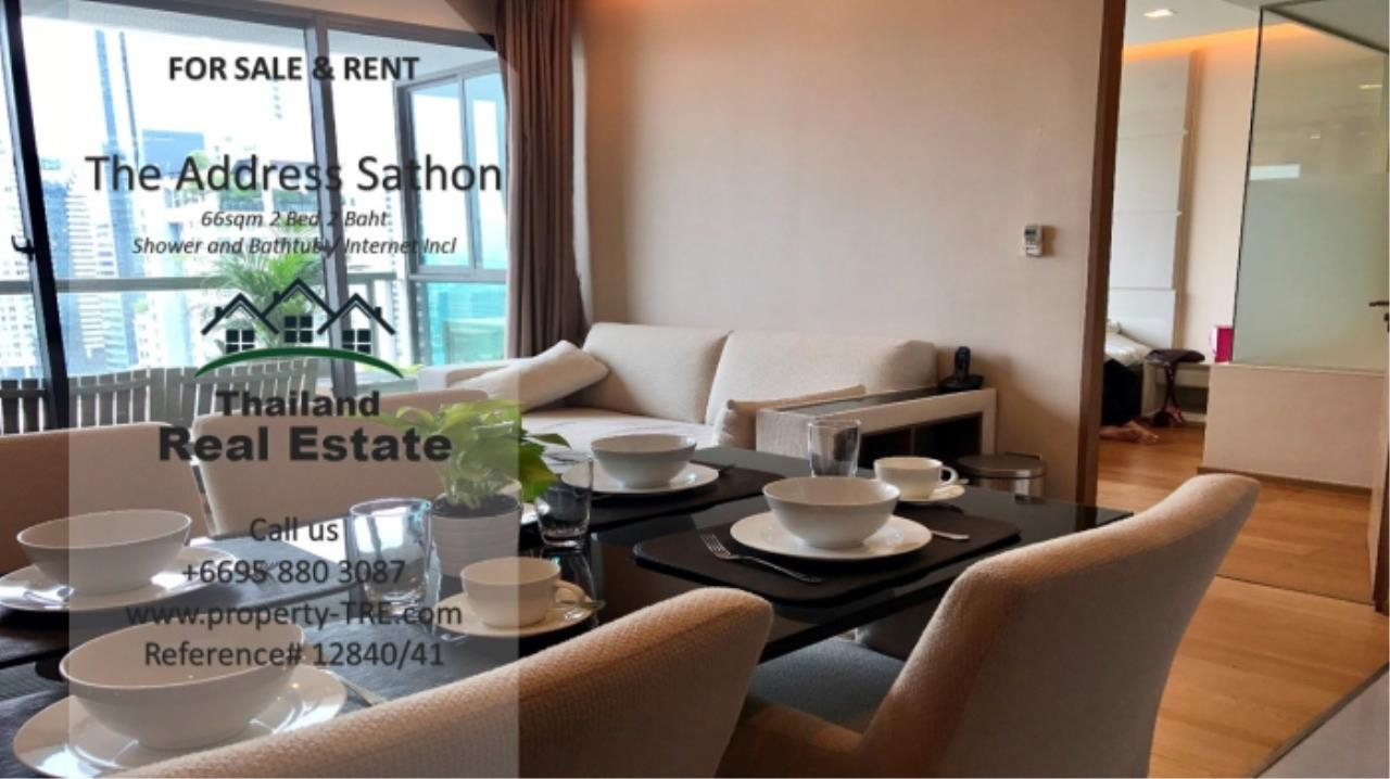 Thailand Real Estate Agency's 2 bed, 2 bath For Sale and Rent | The Address Sathon (Reference 12841) 3