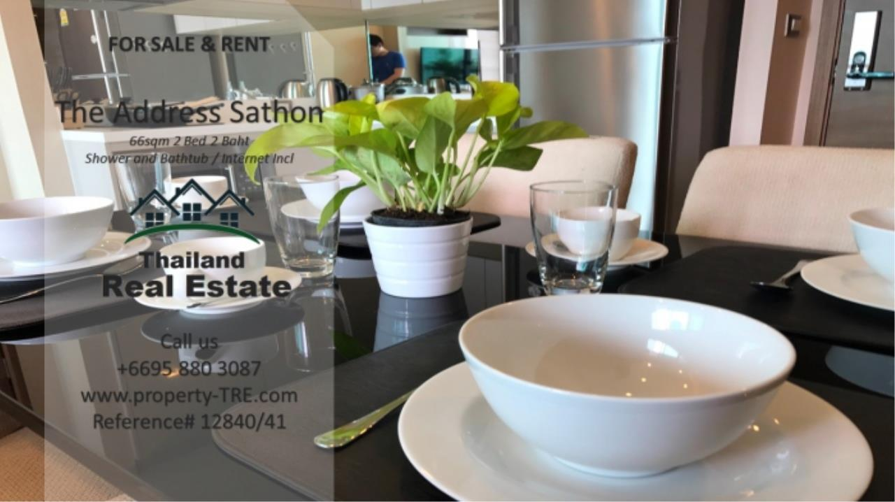 Thailand Real Estate Agency's 2 bed, 2 bath For Sale and Rent | The Address Sathon (Reference 12841) 4