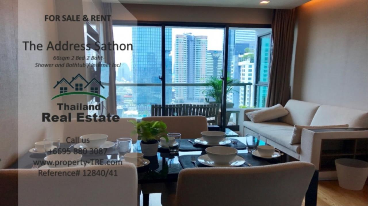 Thailand Real Estate Agency's 2 bed, 2 bath For Sale and Rent | The Address Sathon (Reference 12841) 5