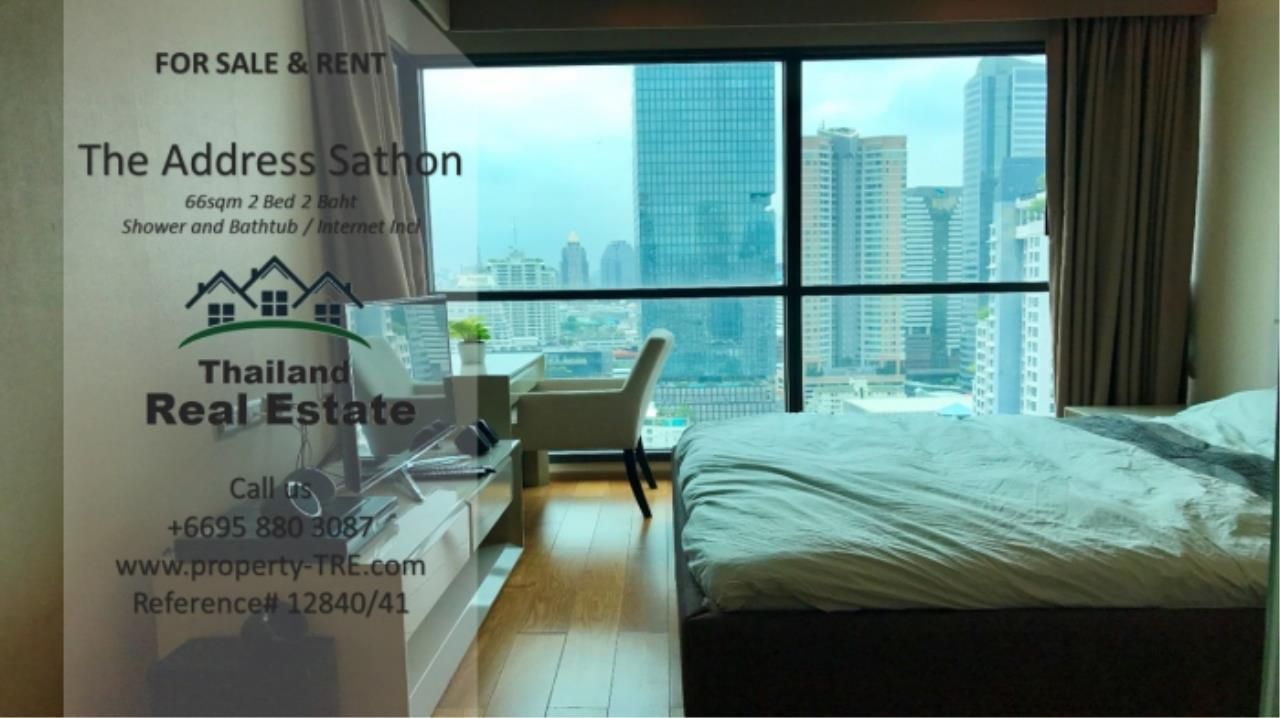 Thailand Real Estate Agency's 2 bed, 2 bath For Sale and Rent | The Address Sathon (Reference 12841) 6