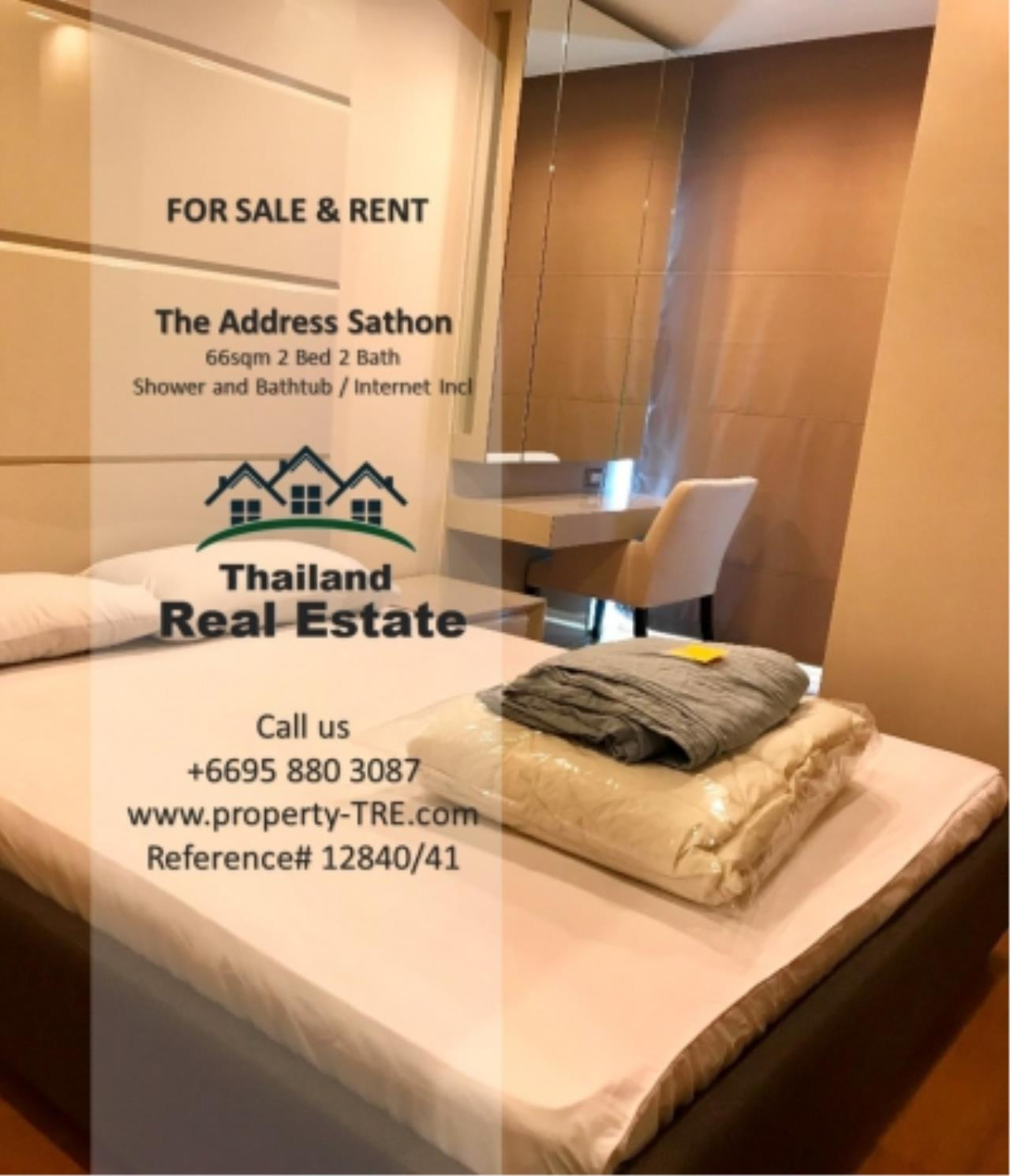 Thailand Real Estate Agency's 2 bed, 2 bath For Sale and Rent | The Address Sathon (Reference 12841) 7