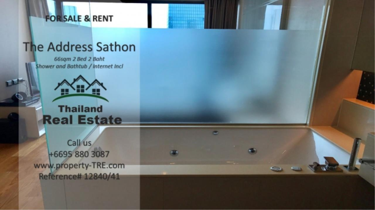 Thailand Real Estate Agency's 2 bed, 2 bath For Sale and Rent | The Address Sathon (Reference 12841) 8